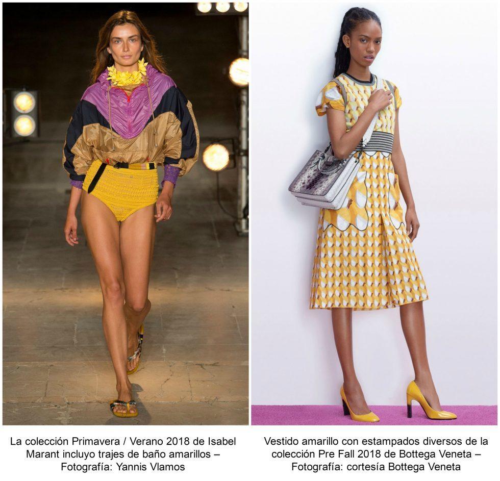 amarillo el color del 2018