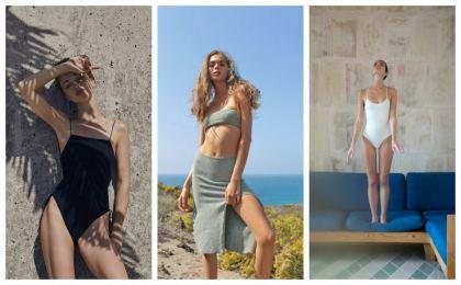 minimalismo en beachwear