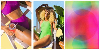 texturas de colores traslúcidos Primavera verano 2020
