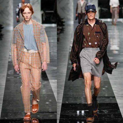 fendi primavera verano 2018, moda masculina