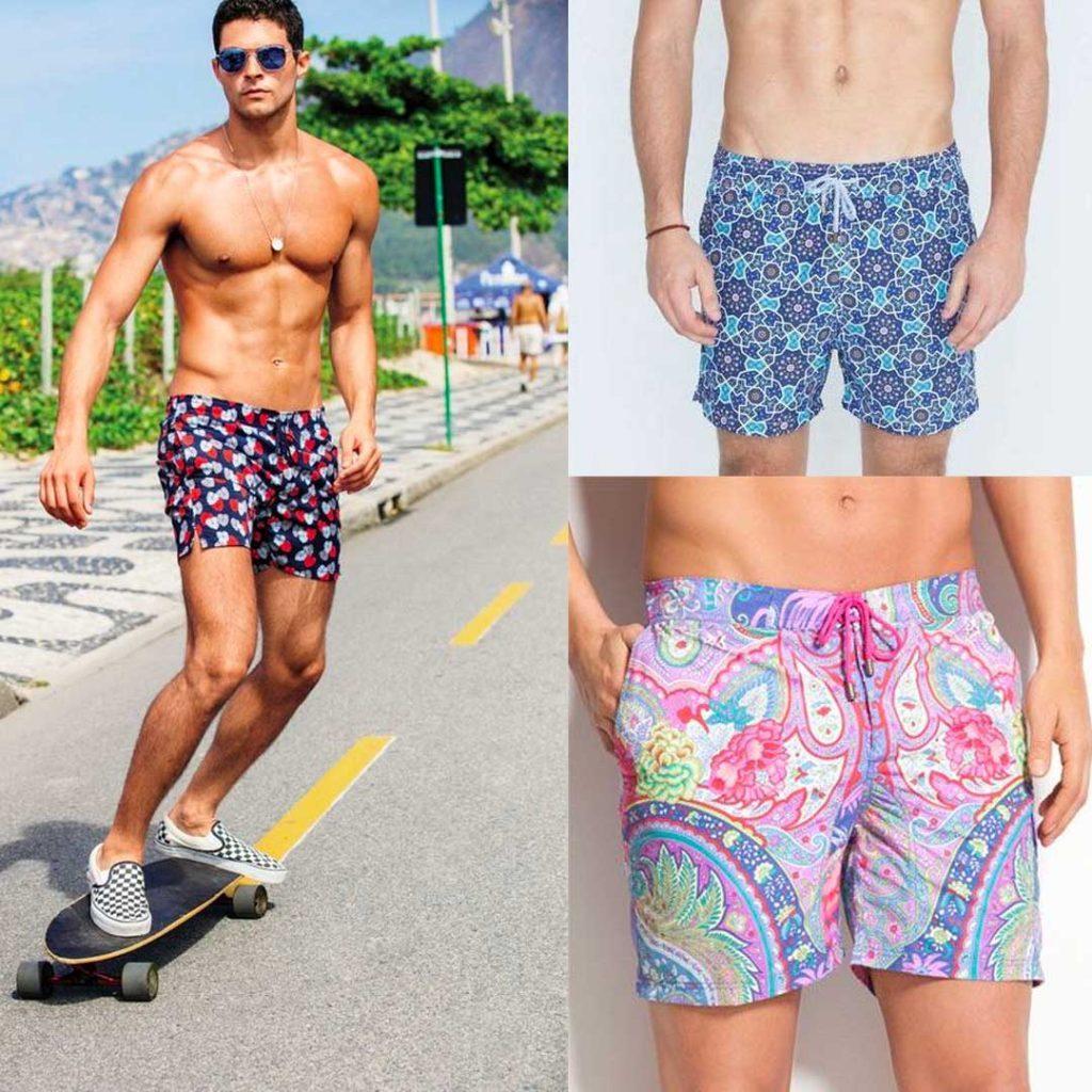 6f750974 Para la temporada Primavera – Verano del próximo año, las tendencias de  moda en ropa de baño masculina proponen seguir construyendo la identidad  del hombre ...