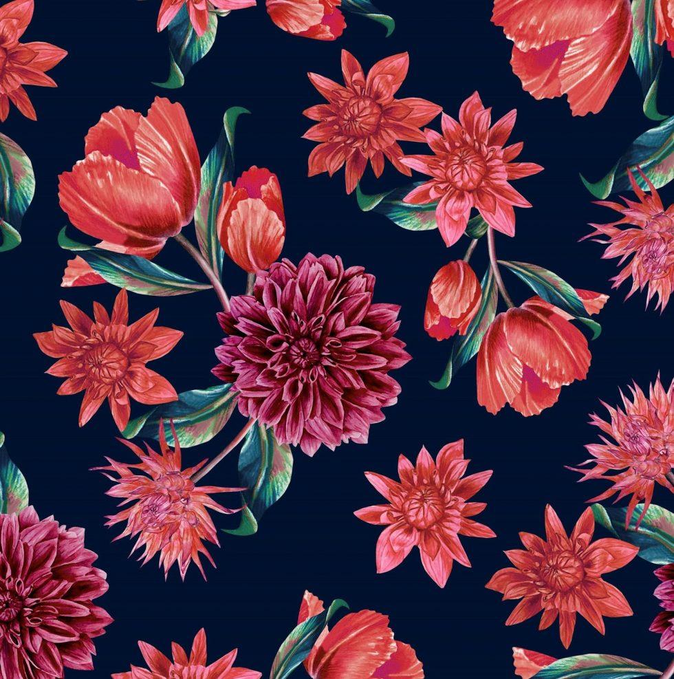 versión floral
