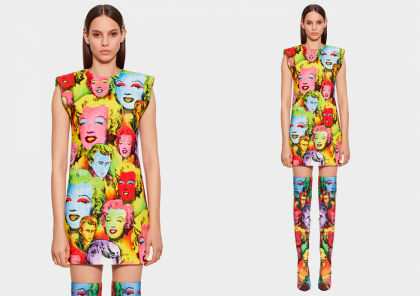 POP ART Estampados de versace