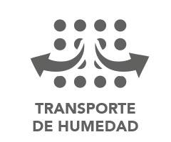 Transporte de humedad